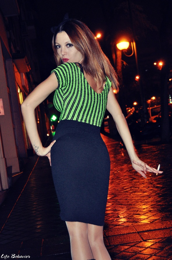 STREET STYLE:  Party Night - Madrid