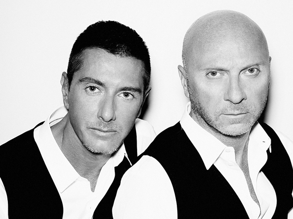 Stefano Gabbana and Domenico Dolce