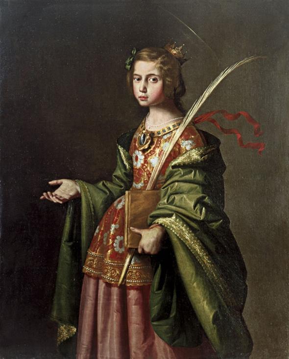 Santa Isabel de Turingia (1635-1640)