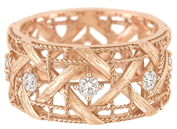 MY DIOR RING - PINK GOLD AND DIAMONDS