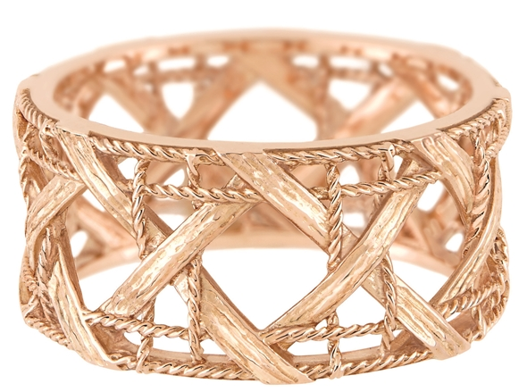 MY DIOR RING - PINK GOLD