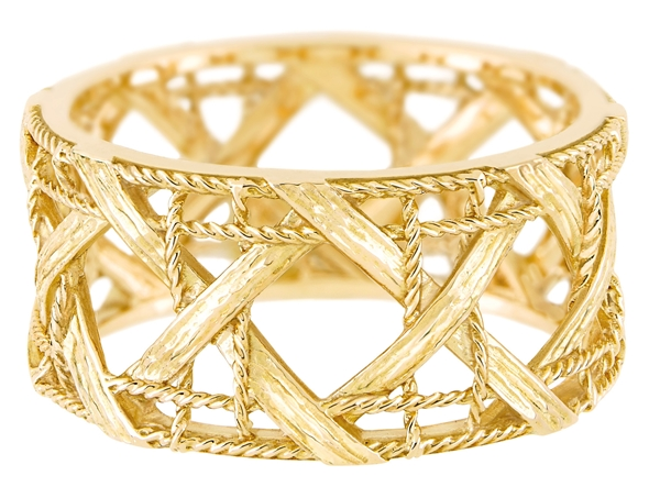 MY DIOR RING - YELLOW GOLD