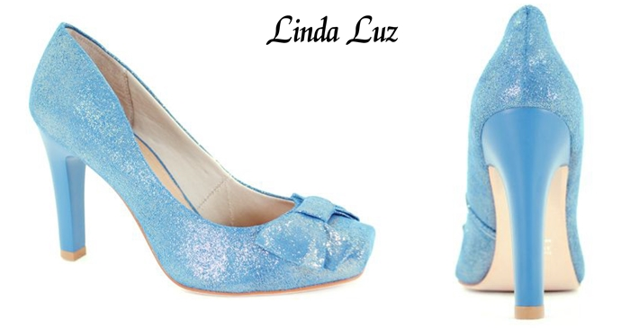 zapato con brillo Linda Luz