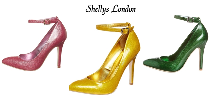 zapato con brillo Shellys London