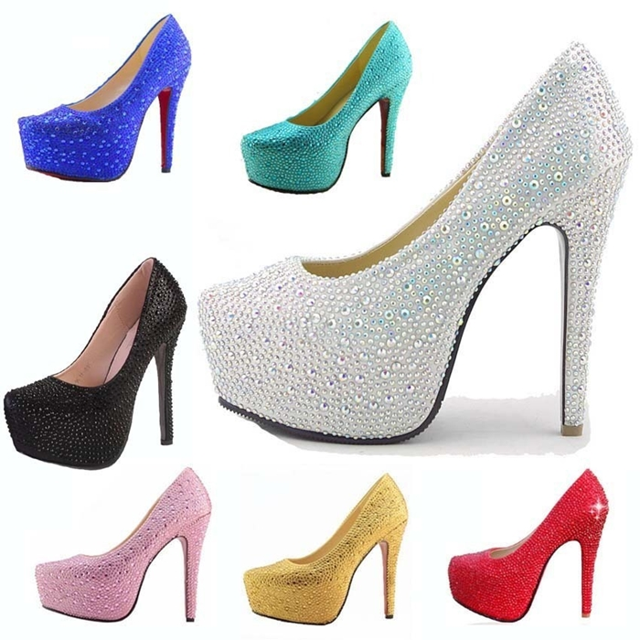 zapatos brillo diamante Kiss