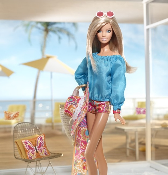 Malibu Barbie Doll By Trina Turk