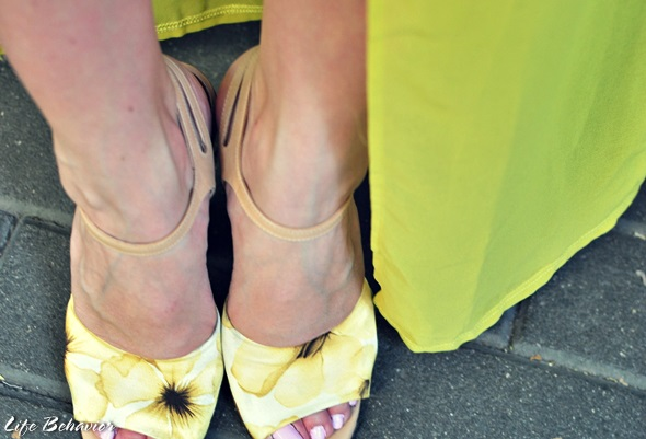 streetstyle yellow dresses