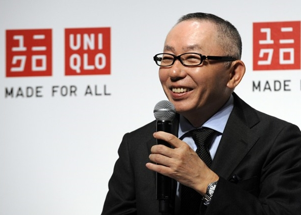 UNIQLO Chairman, President and CEO Tadas