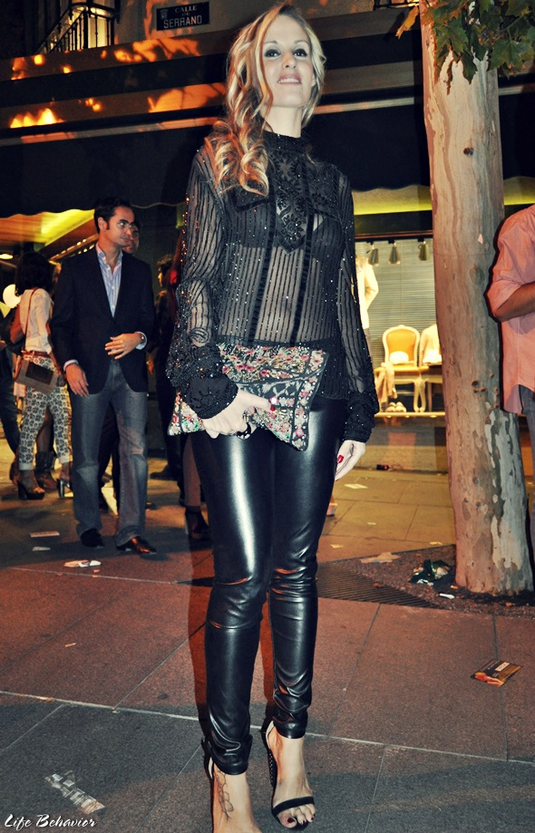 vogue fashion night out madrid