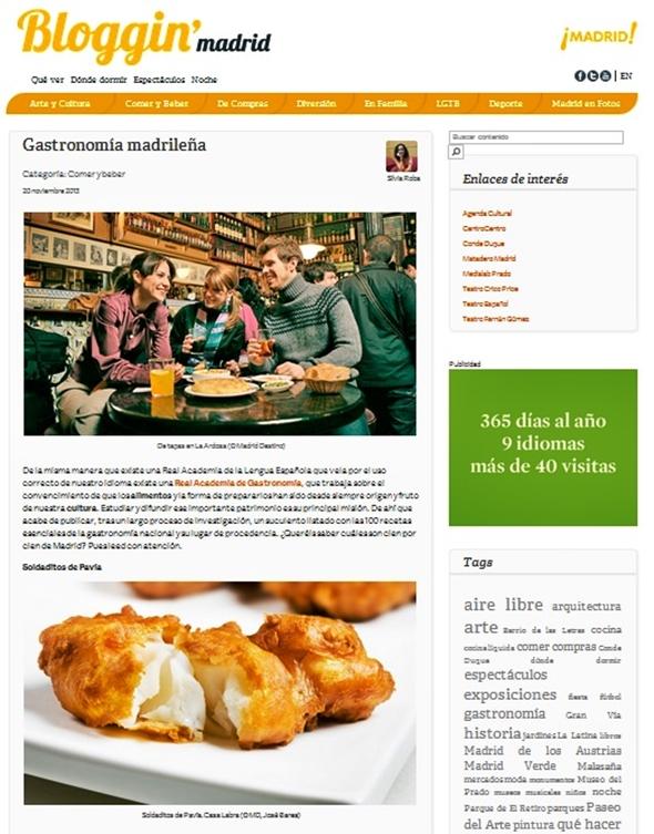 bloggin madrid