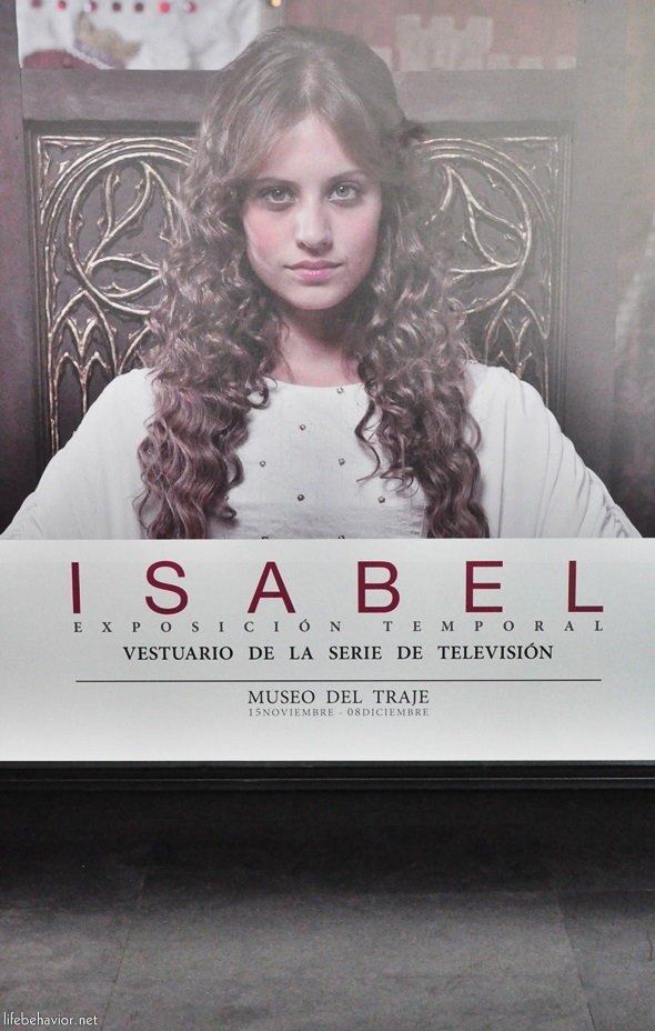Isabel. Vestuario de la serie de televisión